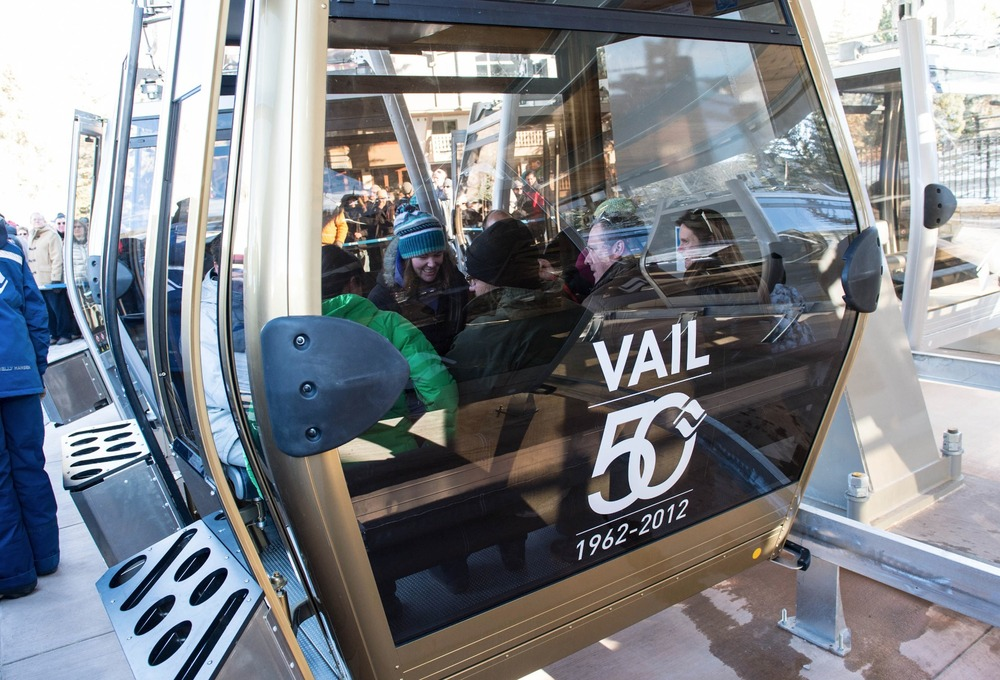 The Dedication to the new One Gondola at Vail. - © Jack Affleck