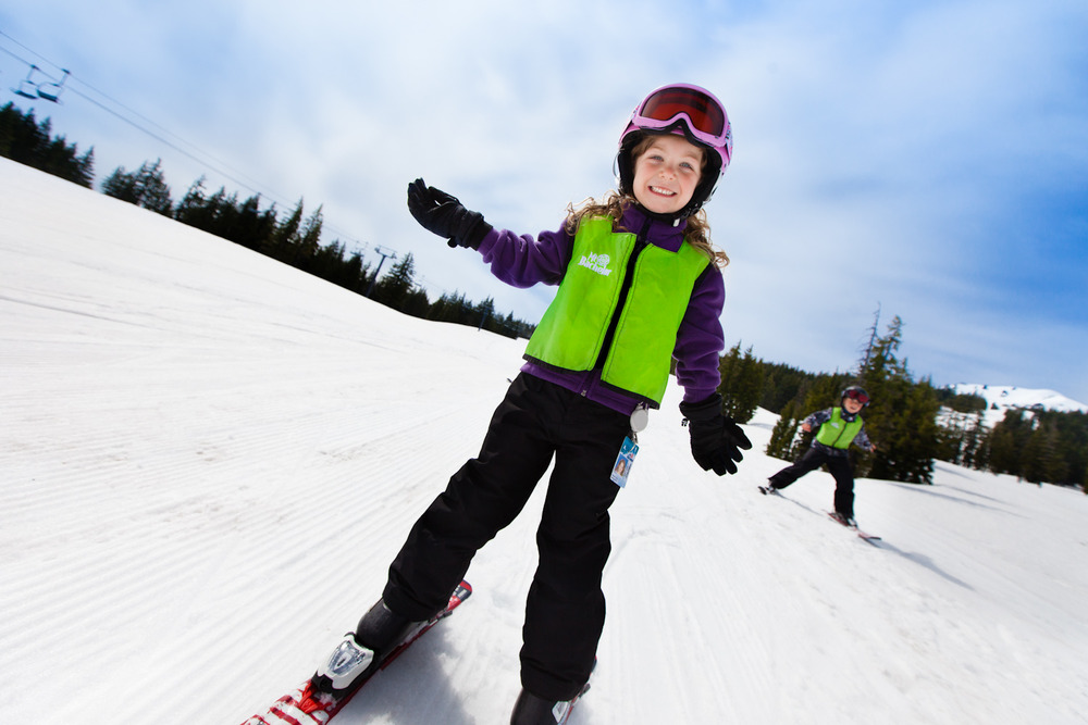 Kids at Mt. Bachelor. Photo by Tyler Roemer, courtesy of Mt. Bachelor. - ©Tyler Roemer