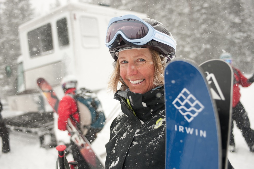 All smiles at Irwin - ©Irwin Colorado