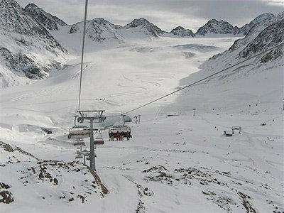 Bergbahnen am Pitztaler Gletscher - © Pitztaler Gletscher