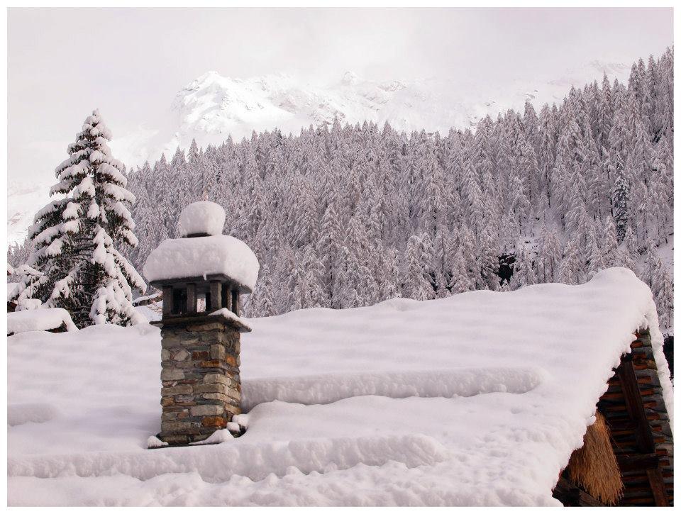 Fresh snow in Gressoney - Monterosa Ski, Italy. Nov. 29, 2012 - © Arch. Fotografico Monterosa Ski