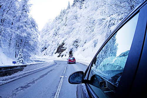 Driving to the Alps: On the road to Mulbach
