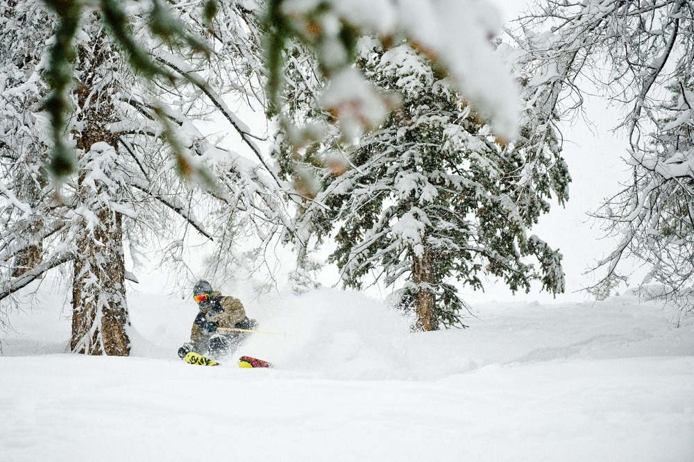 Collin Collins at Sun Valley. - ©Tal Roberts