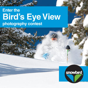 Enter the Bird's Eye View photography contest.