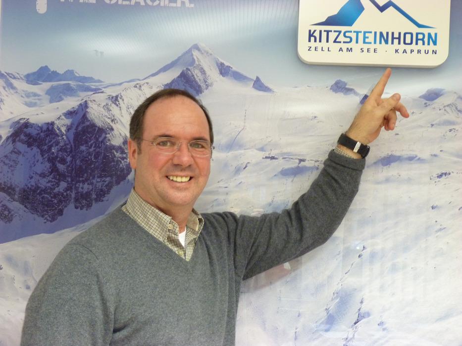 Norbert Karlsböck ist Bürgermeister von Kaprun und Mitglied des Vorstandes der Gletscherbahnen Kaprun AG - © Friederike Ostermeyer
