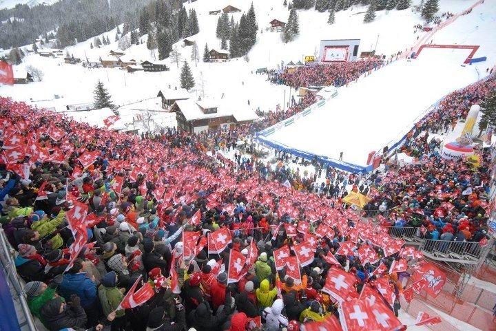 Adelboden, Gennaio 2013 - © FIS Alpine World Cup Tour