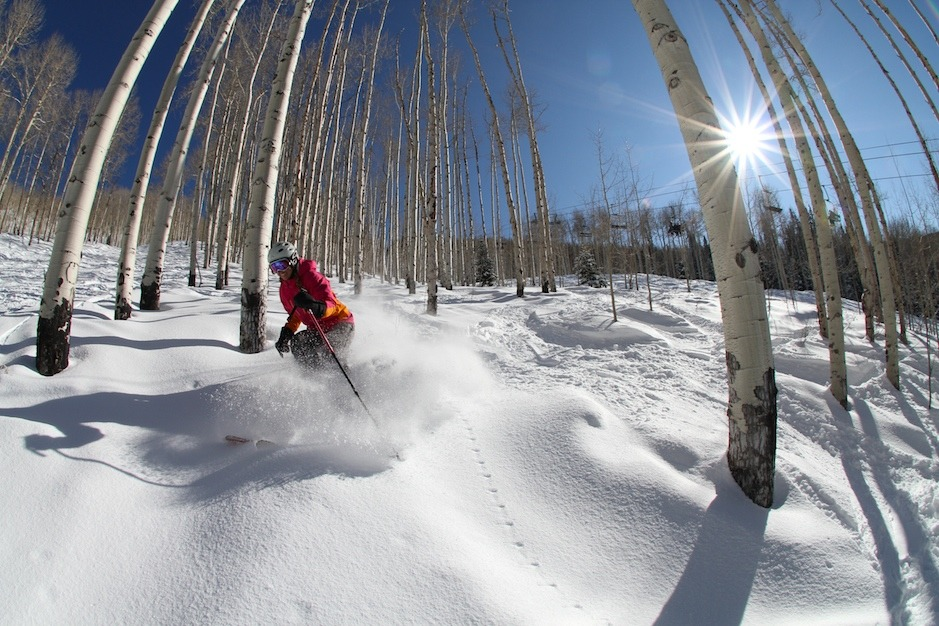Powder skiing at Powderhorn - © Powderhorn