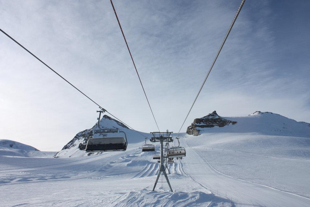 Furgsattel-Sessellift in Zermatt - © Sebastian Lindemeyer / Skiinfo.de