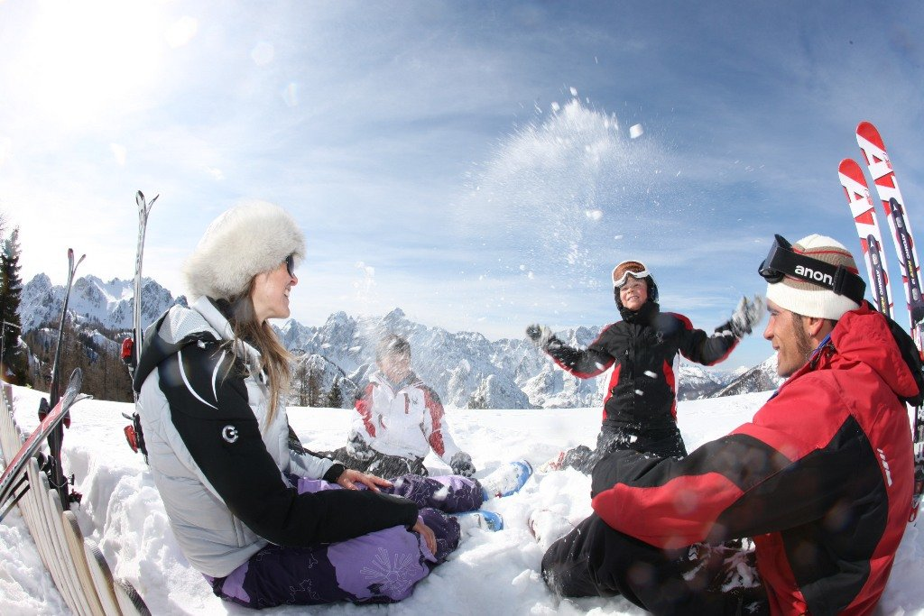 Rodinná lyžiarska dovolenka v Taliansku