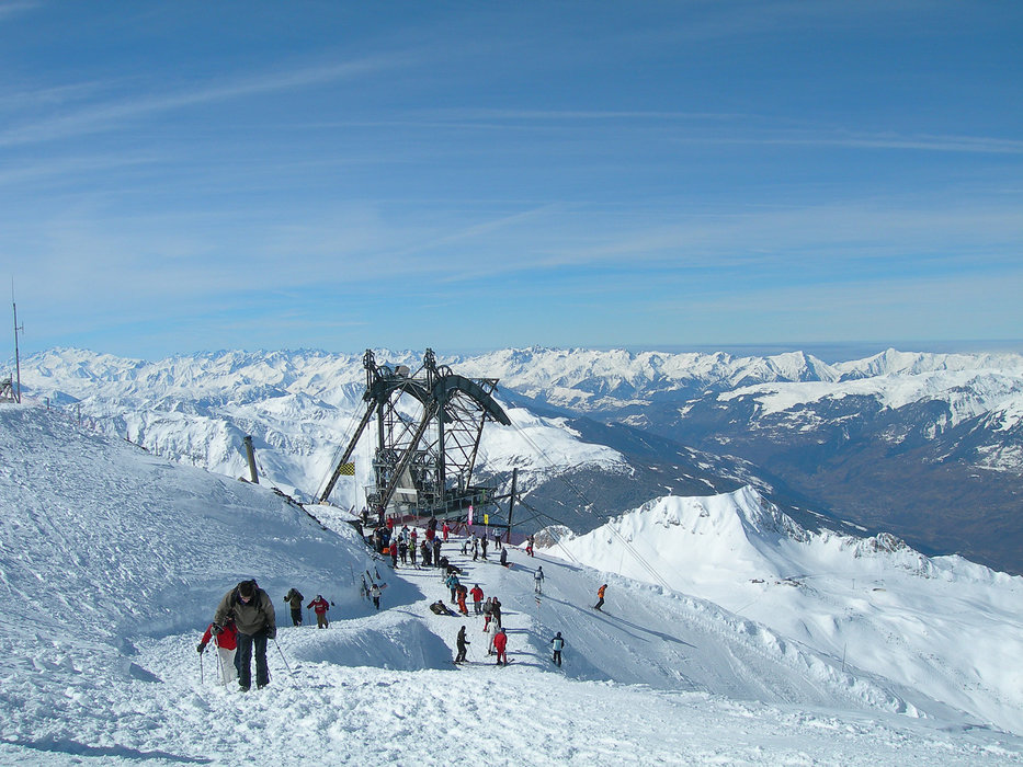 Top of the Aguille Rouge (3,226m) in Les Arcs - © Les Arcs Tourist Office