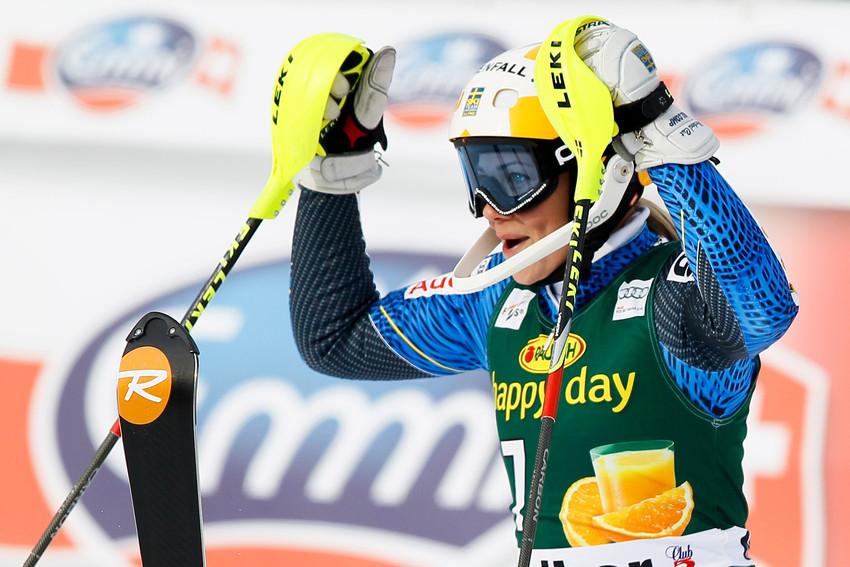 Zweite im Slalom: Frida Hansdotter glänzt in Maribor - © Stanko GRUDEN/AGENCE ZOOM