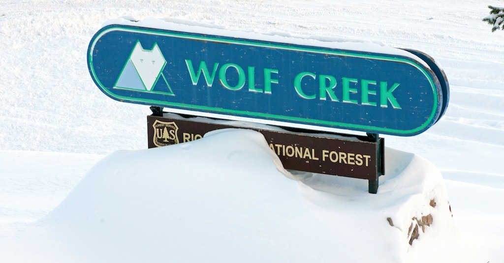 Wolf Creek greets skiers and riders with copious amounts of powder. - ©Josh Cooley