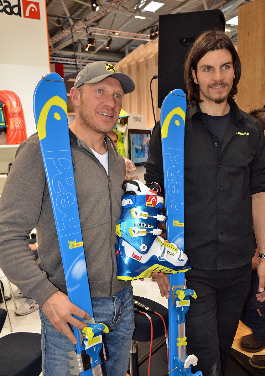 Herman Maier presents 'his' new Head touring ski series - © Skiinfo