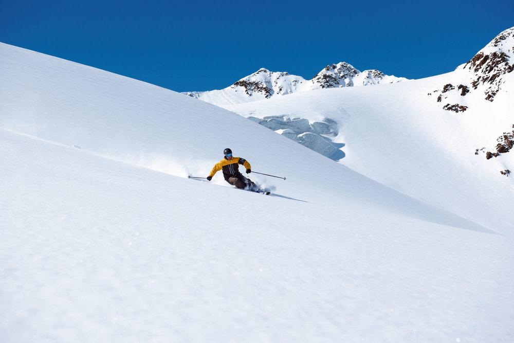 Freeride Hot Spots Austria - Pitztal Glacier - © tirolgletscher.com