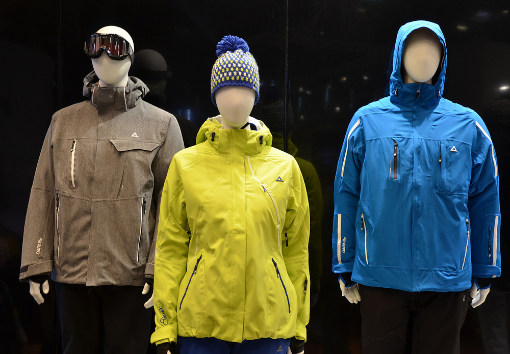 dare2b displays its new jackets collection - ©Skiinfo