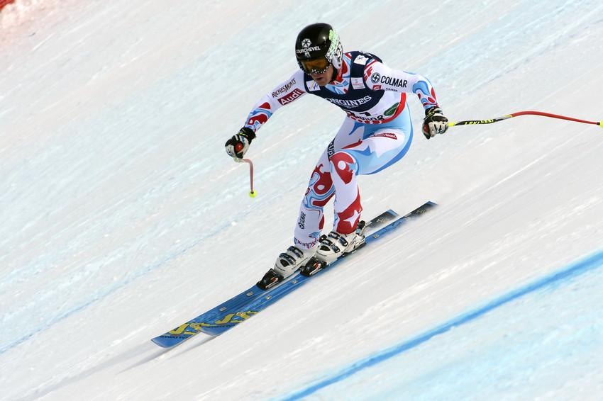 Alexis Pinturault fiel in der Kombiabfahrt recht klar zurück - da nützte auch die klare Slalom-Laufbestzeit nichts mehr. - © Alain Grosclaude/AGENCE ZOOM