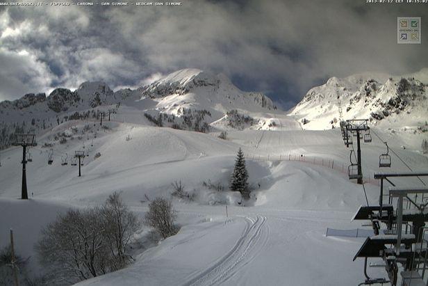 San Simone, Brembo Ski - webcam 12.02.13