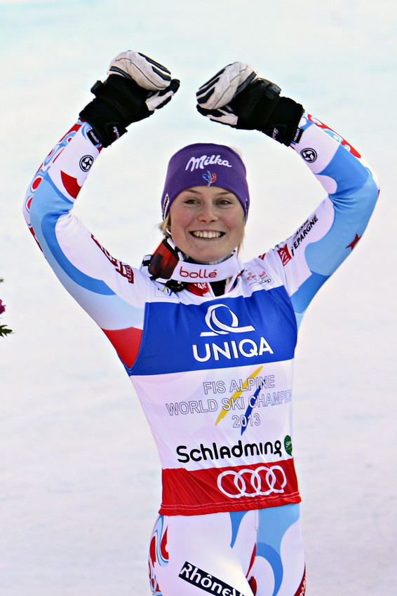 Tessa Worley: Weltmeisterin 2013 - © Alain Grosclaude / Agence Zoom