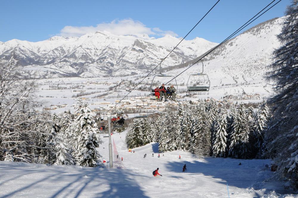 Ancelle ski area