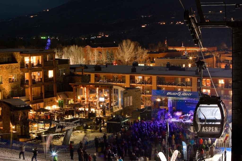 Aspen/Snowmass was the 2012 Visitors' Choice Best Overall Nightlife.  - © Jeremy Swanson