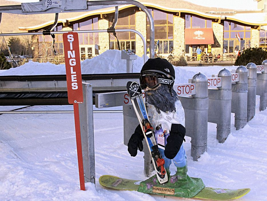 Enter the Hunter Mountain Photo Caption Contest for a chance to win a March into Spring Pass. Photo Courtesy of Hunter Mountain.