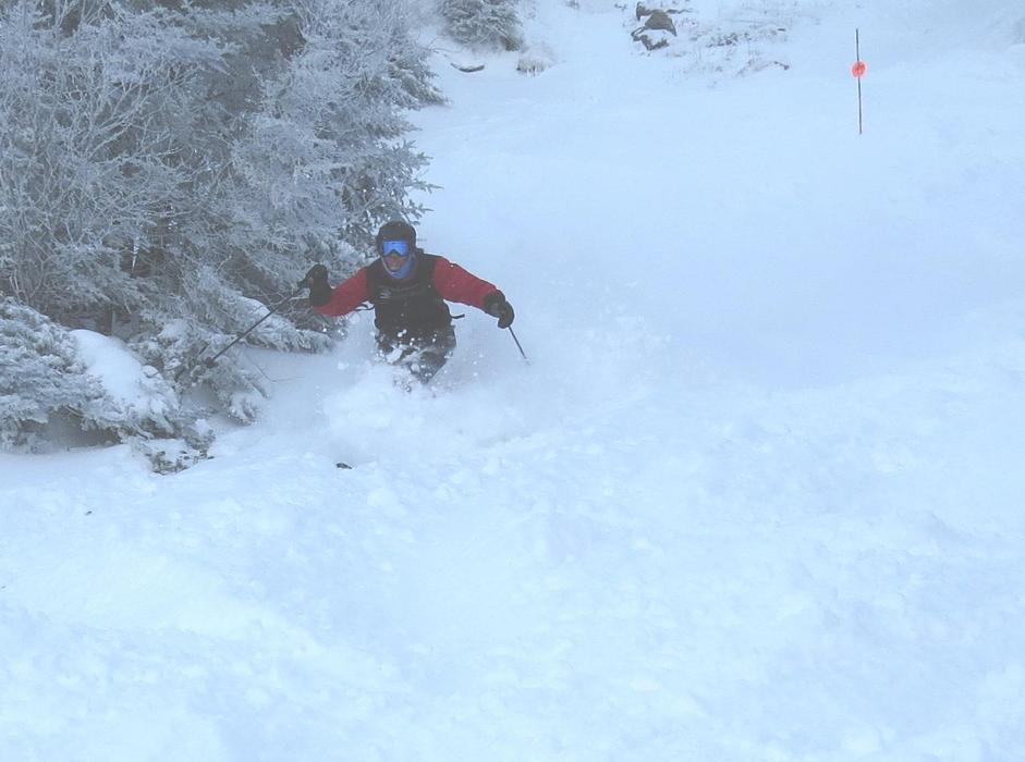 Smuggs is steep and deep in late February. - © Smugglers' Notch/Facebook
