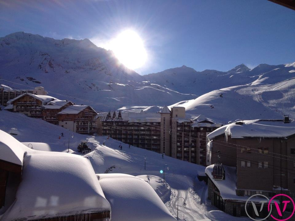 Plenty of powder in Val Thorens, France - © Val Thorens Tourism