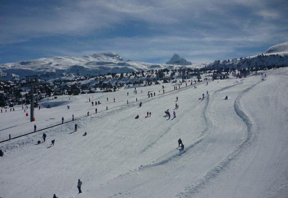 Skiing at La Pierre Saint Martin