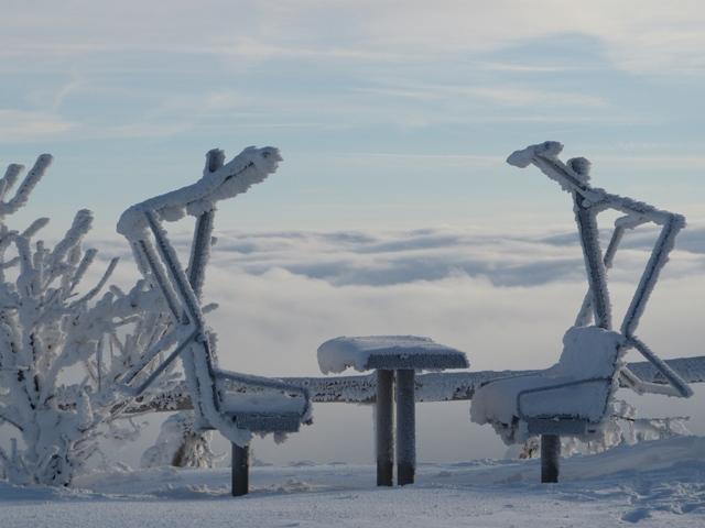 Auf dem Ettelsberg - © Skigebiet Willingen