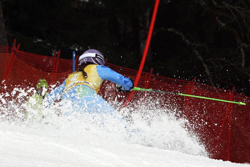 Tina Maze ließ auch in Ofterschwang die Konkurrenz hinter sich - © Christophe PALLOT/AGENCE ZOOM