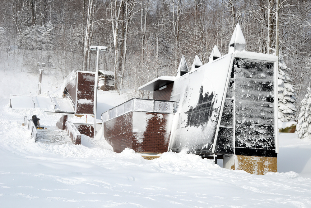 The Streets Urban Terrain Park debuts on Jan. 19. Photo Courtesy of Seven Springs.
