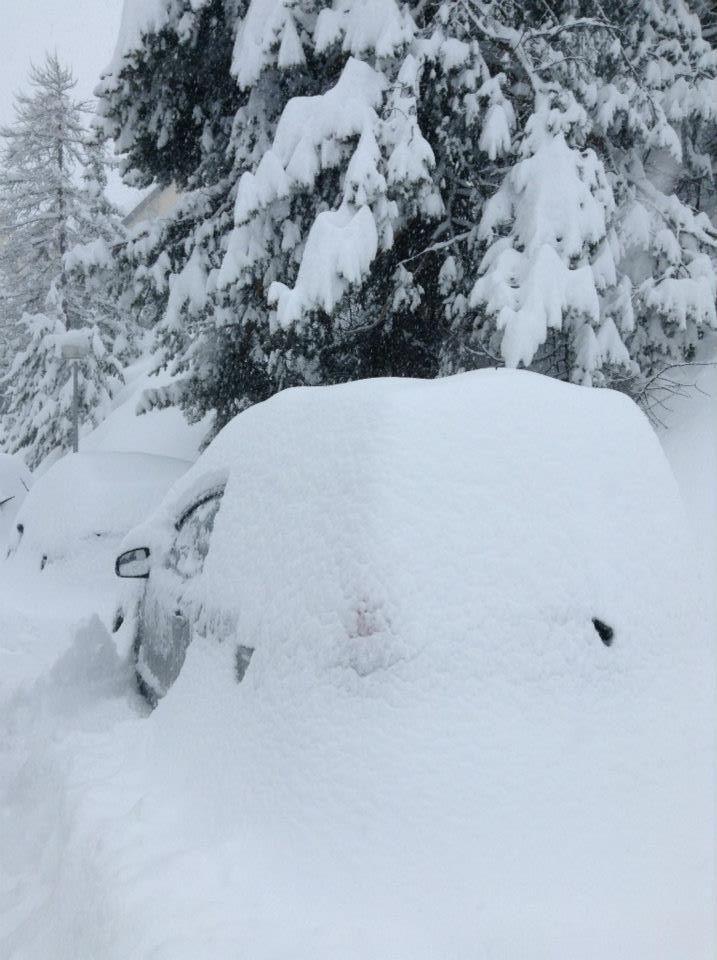 March, 18th 2013 snowfall - Auron