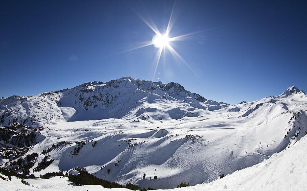 Un soleil omniprésent, une neige abondante, des températures ...