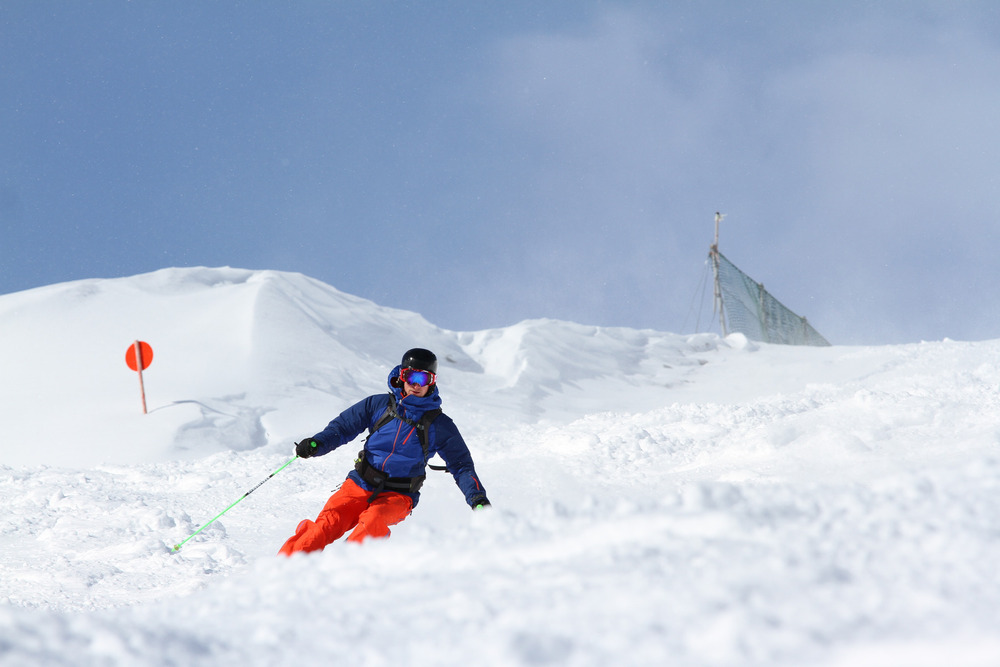 Unterwegs im Skigebiet Lermoos - Grubigstein - © Skiinfo.de