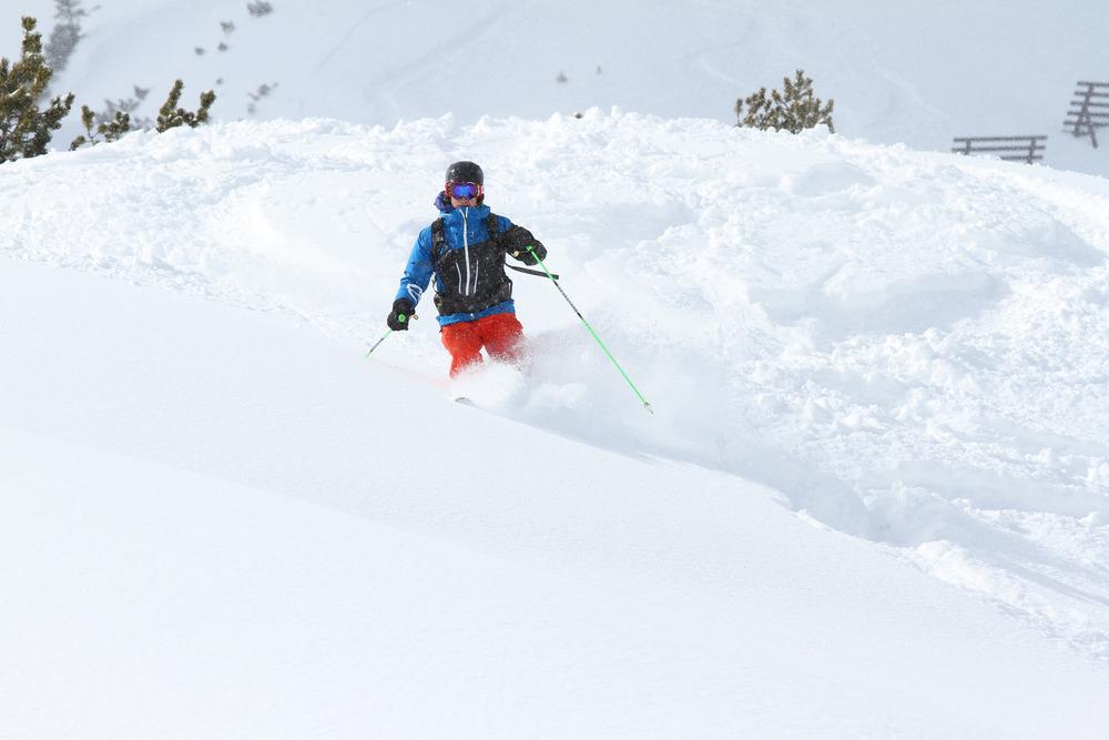 Unterwegs im Skigebiet Lermoos-Grubigstein (Tiroler Zugspitzarena) - © Skiinfo.de