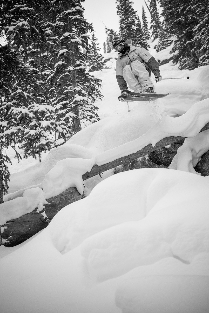 Aidan Sheahan airs out at Crested Butte. - ©Jeff Cricco