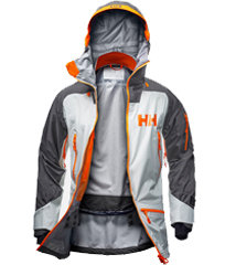 Ridge Shell Ski Jacket review: Helly Hansen freeride jacket