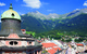 Innsbruck old town streets in summer