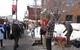 Street performers in Sundance UT