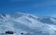 Vue panoramique sur les pentes à Peyragudes, France