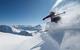 Pudderkjøring i Disentis, Sveits
