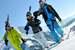 Skiers in La Clusaz - © OT La Clusaz / Massif des Aravis