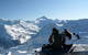Panoramic view on the 4000 peaks from St Luc ski runs - © OT Sierre-Anniviers