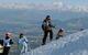 Ski au dessus de Genève et du Léman - © Maison du Tourisme Monts Jura
