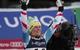 Riesenjubel bei Nicole Hosp - im Slalom verbessert sie sich bis auf Platz drei - © Alain Grosclaude/AGENCE ZOOM