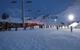 Animations nocturnes sur le front de neige des Albiez - © Marie Fumaz / OT des Albiez