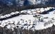 Vue aérienne de la station de ski de Sainte Foy Tarentaise - © P. Royer / OT de Sainte Foy Tarentaise