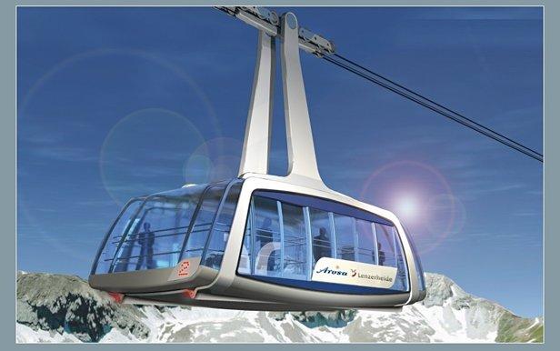 Neue Skischaukeln in den Alpen: Auf die Größe kommt es an - ©Lenzerheide