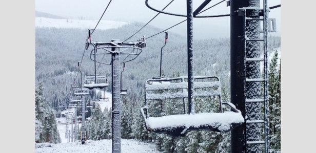 Snow coats Winter Park - ©MarkHoolsema
