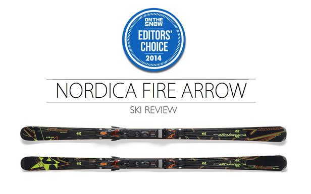 2014 Men's Frontside Ski Editors' Choice: Nordica Firearrow 84 EDT